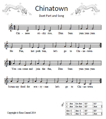 Chinatown song