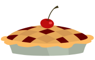 berry on a pie